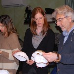 Carlo explains papier mache Venitian masks